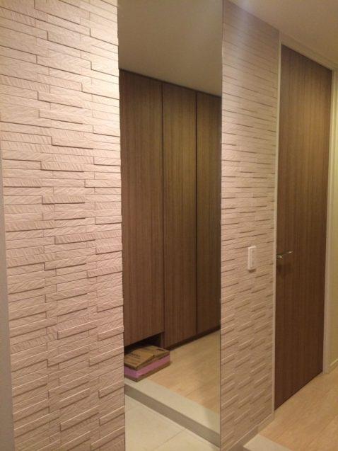 エコカラット玄関鏡